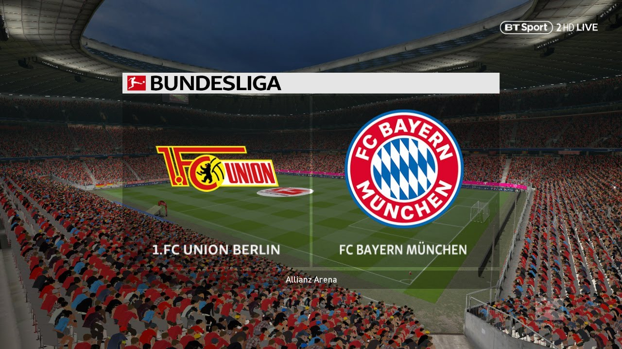FC Union Berlin bs Bayern Munich